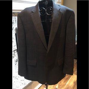 Ralph Lauren  Gray Sports Jacket w/Blue Lines